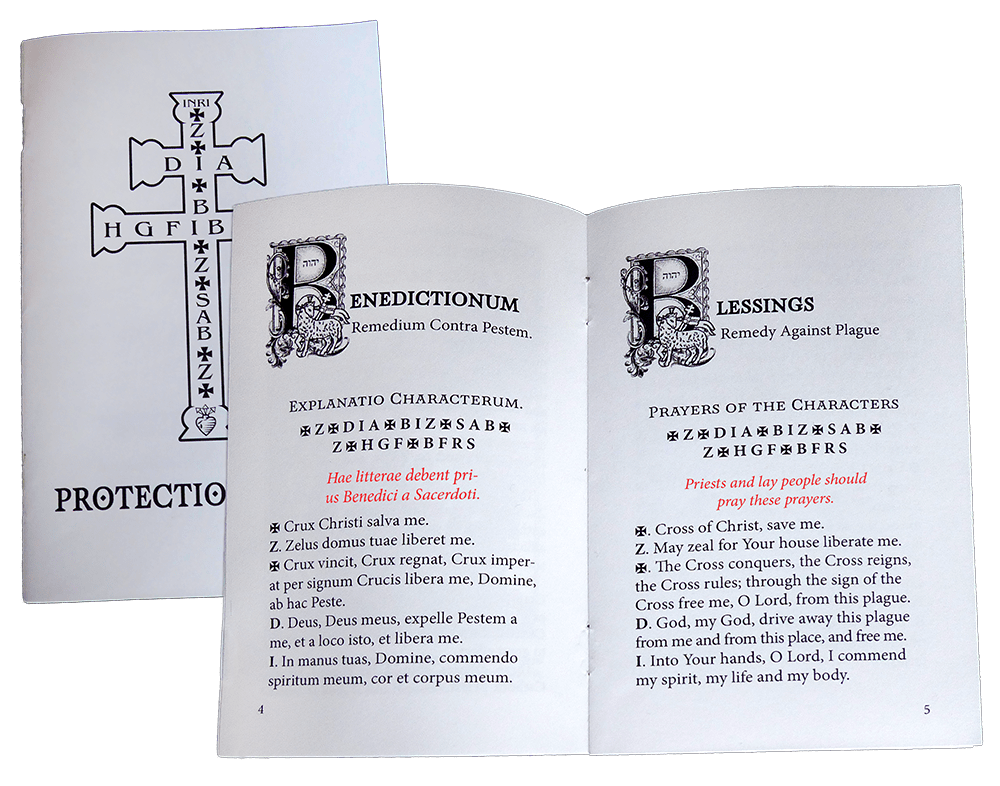 st zacharias blessing booklet for protection from covid-19